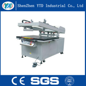 Oblique Arm Structure Screen Printing Machine with Transfer Paper pictures & photos