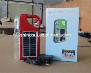 Emergency LED Torch Solar Camping Lantern with Mobile Charge pictures & photos