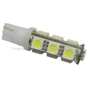 Indicator LED Light (T10-13SMD-5050-W)