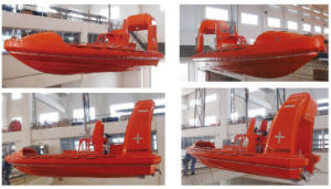 Solas Standard GRP/FRP 6 Man Single Hook Fast Speed Rescue Boat pictures & photos