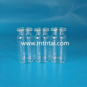 8ml Tubular Glass Vials in Transparent