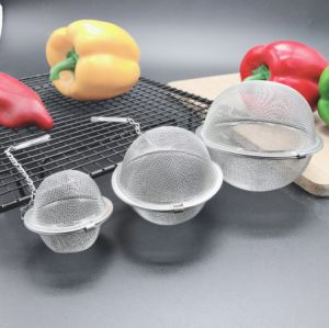 Quality Assurance Stainless Steel Tea Accessories - Tea Ball Infuser Strainer
