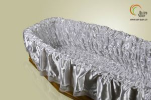 Europe Satin Coffin Cover and Casket Elastic Cover