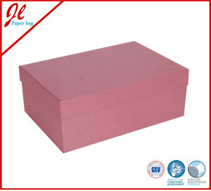 Simple Gift Shoe Boxes Packaging Box for Shoe pictures & photos