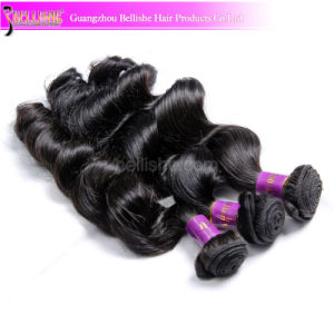 24inch Factory Price High Quality 6A Grade Loose Wave Brazilian Human Hair Weave