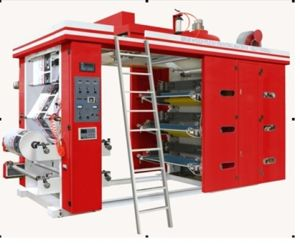 Customized in Unwiding 8 Color Flexo Printing Machine