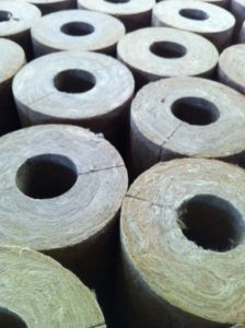 Rockwool Pipe for Sound Insulation Insulation, Fireproof Rockwool pictures & photos