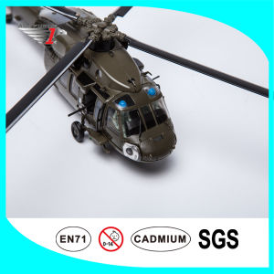 No Resin Airplane Model Made of Alloy Material Uh-60 Black Hawk
