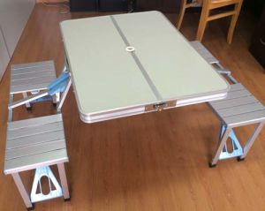 Folding Table with Chair (ET-CHO150-3) pictures & photos