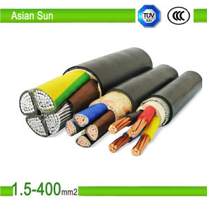 Three Phase 50mm2 PVC Insulated Electrical Power Cable Manufacturer pictures & photos