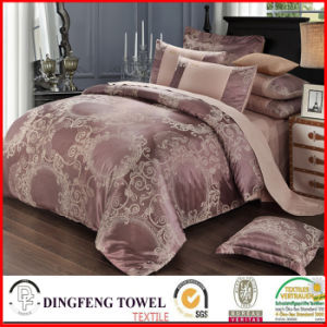Fashion Poly-Cotton Jacquard Bedding Set Df-C159 pictures & photos