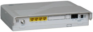 P2p ONU 100/1000Mbps Dual Rate FTTH Gateway CPE pictures & photos