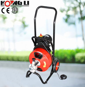 Electric Drain Cleaner with Drum and Wheels (D-360ZF) pictures & photos