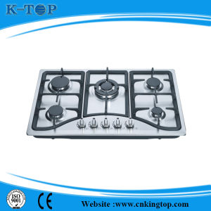 2015 Hot Selling Gas Hob, Built-in Stainless Steel Kitchen Hob