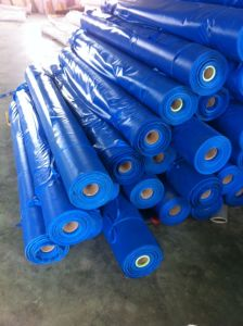PVC Coated Tarpaulin Fabric, 900d*900d, for Shipping Covering