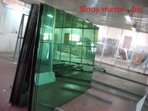 4mm Large Sheet Green Tinted Mirror Glass pictures & photos