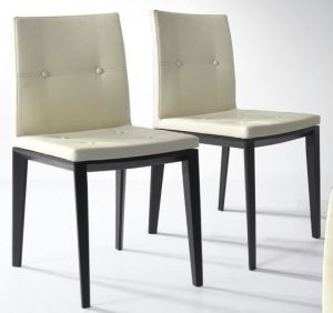 Padded Wood Dining Chair (WHS8)
