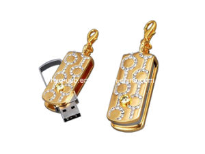 Revolving Diamond Flash Drive (HXQ-D002)