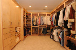 European Style Closet for Room Divider Walk-in Wardrobe pictures & photos