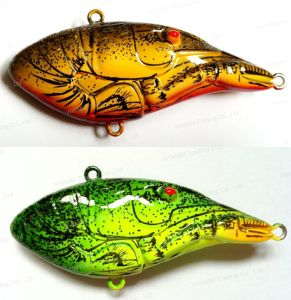Top Quality Lobster Vib Fishing Lure with Rattle (HW008) pictures & photos