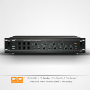 Public Address 4 Zone Mixer Brand Name Amplifier pictures & photos