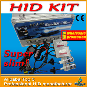H1, H3, H4, H7, H11, 9004, 9005, 9006 and 9007 HID Kit with Slim Canbus Ballast Xenon Bulb 18 Months Warranty