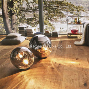 Hand Scraped Wood Flooring/Engineered French Oak Floors/Wooden Parquet Flooring