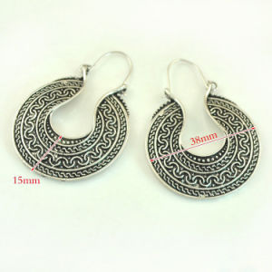 Bohemia Carved Bronze Earrings pictures & photos