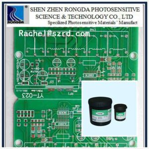 Glossy Green Solder Resist Mask for High-Precision Multi-Layers PCB H9100