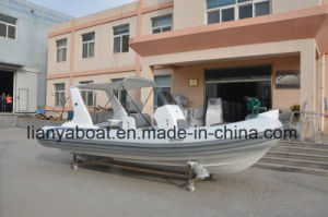 Liya 17ft Hypalon Inflatable Boat Rib Boat with Motor for Sale pictures & photos