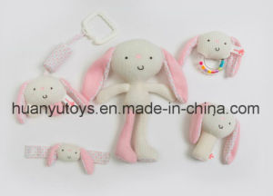 Factory Supply Baby Plush Rattle Set pictures & photos