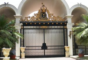 Customized Wrought Iron Gate and Gate Componenets pictures & photos