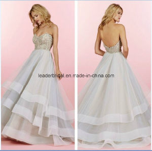Tiered Ball Gowns Sweetheart Applique Bridal Wedding Dresses Z2025 pictures & photos