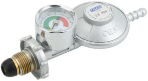 LPG Low Pressure Gas Regulator with Gauge (C31G58U30) pictures & photos