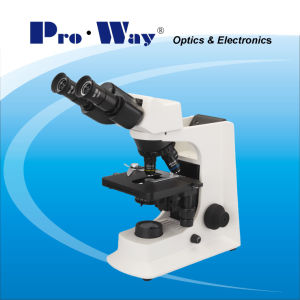 Professional LED Seidentopf Binocular Biological Microscope (PW-BK2000) pictures & photos