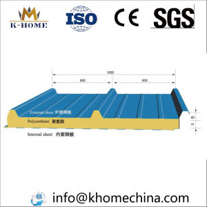 Steel Building Sandwich Roofing Panel pictures & photos