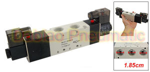 1pneumatics High Quality 4V Series 24V Miniature Solenoid Valve 4V430c-15 G1/2