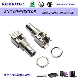 Zinc Alloy 90 Degree Female BNC Connector pictures & photos