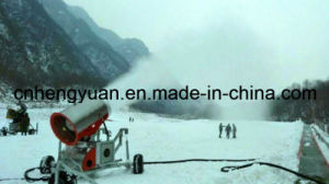Good Quality Man-Made Artificial Snow Flake Ice Maker in Ski Resort Machine