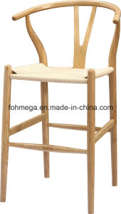 2016 New Design Wood Modern Bar Chair Price (FOH-BCA75) pictures & photos