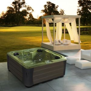 Monalisa Outdoor Used Wholesale Whirlpool Hot Tub (M-3382) pictures & photos