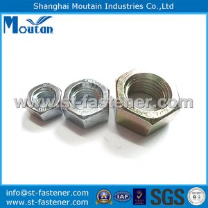 Hex Nuts with DIN934 Zinc Plated