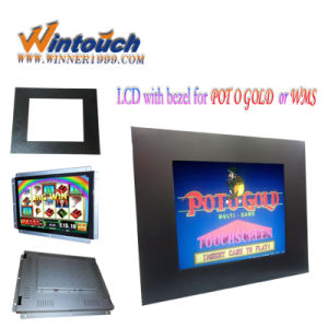 19 Inch 4: 3 VGA LCD Open Frame with Resistive Touch Screen for Pot O Gold Game