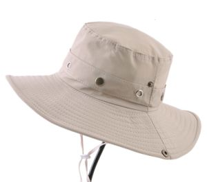 Waterproof Boonie Hat/Custom Bucket Boonie Custom Hat - Beige