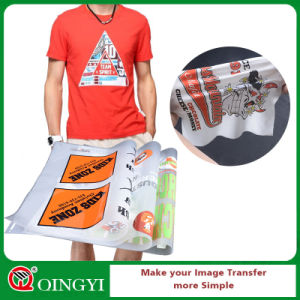 48d28d00f China Qingyi Multicolored Heat Transfer Printing Sticker for T Shirt ...