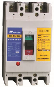 Cm1 Type Moulded Case Circuit Breakers, AC 380V 20AMP 40AMP 50AMP 63AMP MCCB pictures & photos