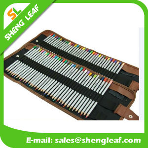 Colorful Pencil with Roller Bag Packing Custom Logo