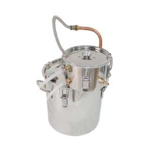 30L/8gal Stainless Steel Sealed Distiller Home Used Hydrolat Wine Water Distillation Apparatus