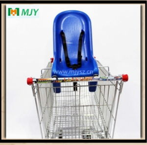 150 Liters Supermarket Shopping Cart with Soft Baby Seat Mjy-150b-S pictures & photos