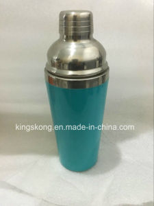 New Design Plastic & Stainless Steel Cosktail Shakers pictures & photos